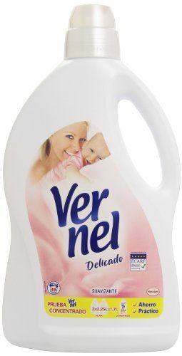 ¡Supermercado! Suavizante Vernel Delicado de 2.25 litros para 36 lavados por 2.34 euros.