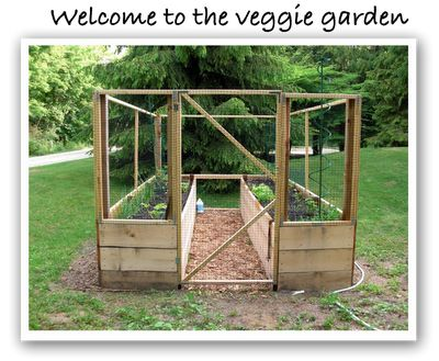 Critter proof veggie garden