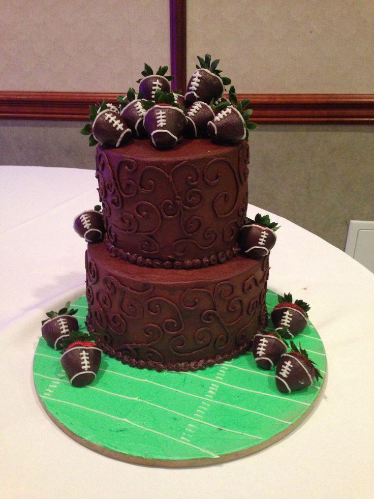 Grooms Cake Ideas Football