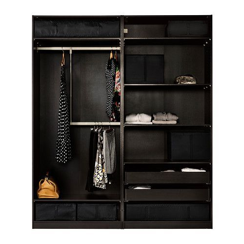 ikea pax wardrobe kids room