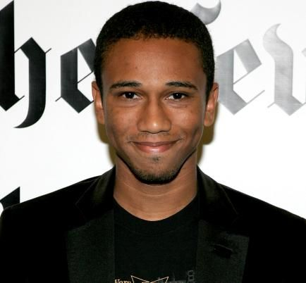 Aaron McGruder Great graphic novelist.  Also way too pretty to be a graphic novelist.