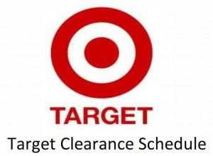 Target Clearance Schedule! Here is the Target Clearance Schedule so that you get the best sales at Target!