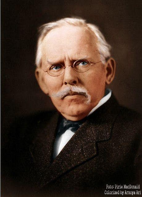 Jacob Riis (1849–1914) by Ian Pirie MacDonald, colorized