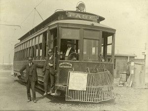 skinker trolley 1904 worlds fair | ... the Street Railway Curve Near Skinker Road 1904 World's Fair Entrance