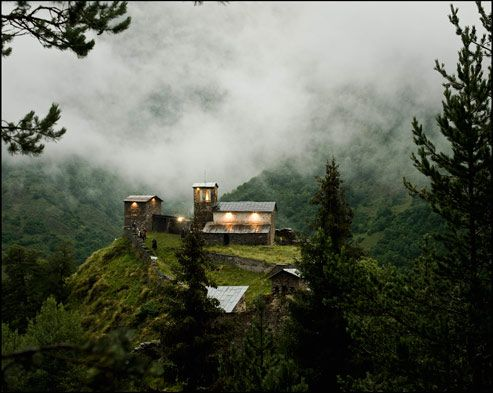 Svanétie, Géorgie