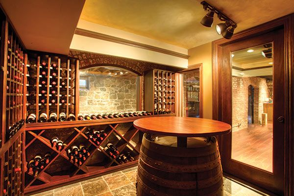 New Jersey Residents Install Spectacular Wine Cellars To Accommodate Rising Consumption In The State & 40 best Wine Cellar Inspiration! images on Pinterest | Cellar ...