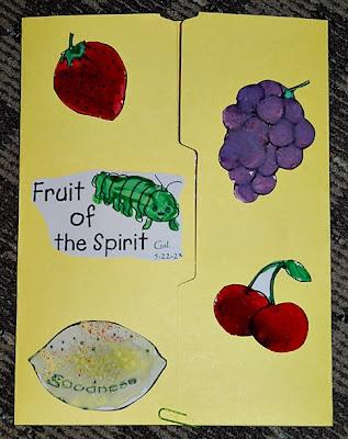 Fruit of the Spirit ~ Lapbook