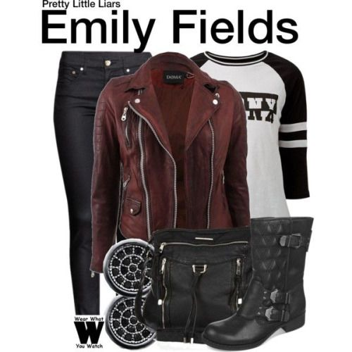 Wear What You Watch • Inspired by Shay Mitchell as Emily Fields on...