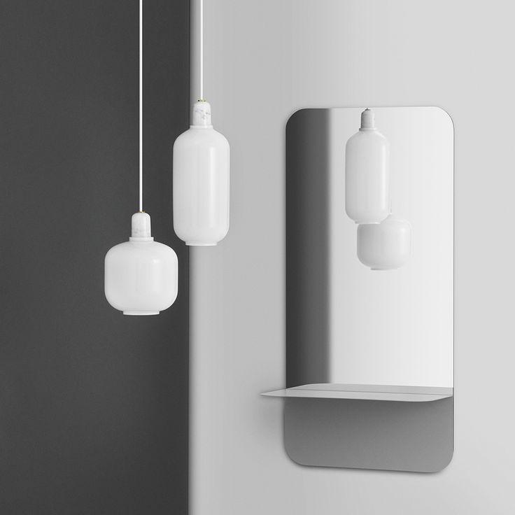 Lampa wisząca Normann Copenhagen Amp w kolorze białym