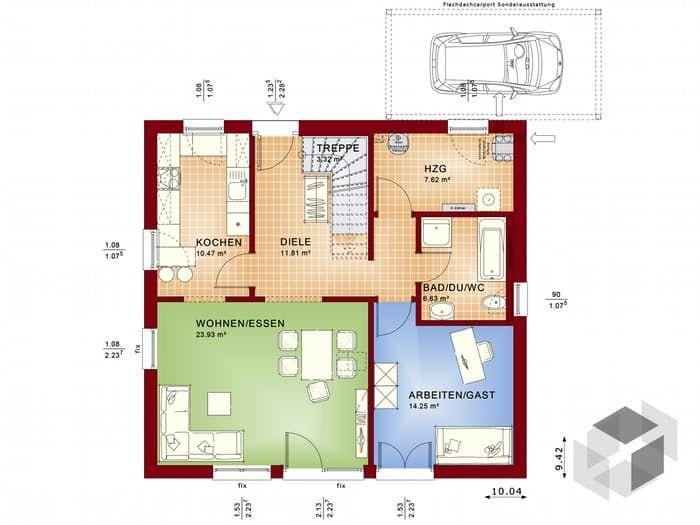 Nice Dieses Und Viele Häuser Mehr Gibt Es Auf Fertighaus.de U2013 Ihr Hausbau Aus  Einer