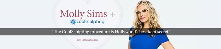 Molly Sims loves #CoolSculpting just as much as we do! #BodyLase