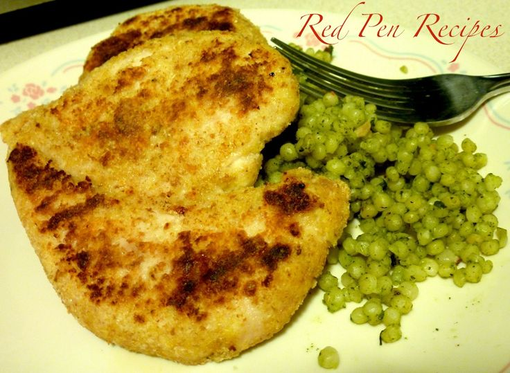 Parmesan chicken cutlets recipe. Both husband and kids loved it.