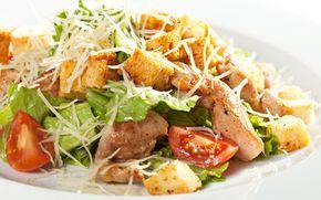 Рецепт ифото Салат Цезарь с курицей— Сочетайзер