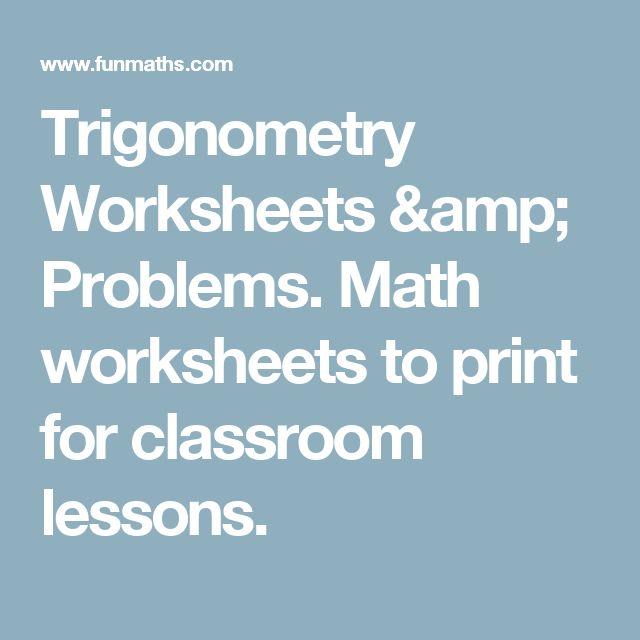 17 Best ideas about Trigonometry on Pinterest   Formulas in maths ...