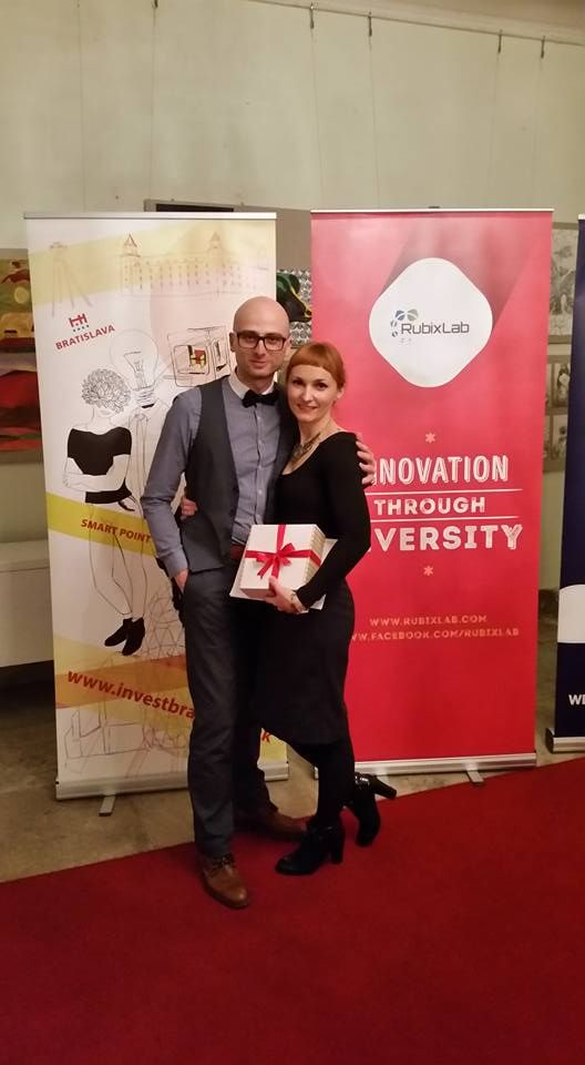 Our wedding salon was awarded as the best idea, validation, execution and busineess future potential at Smart Point Bratislava 2015