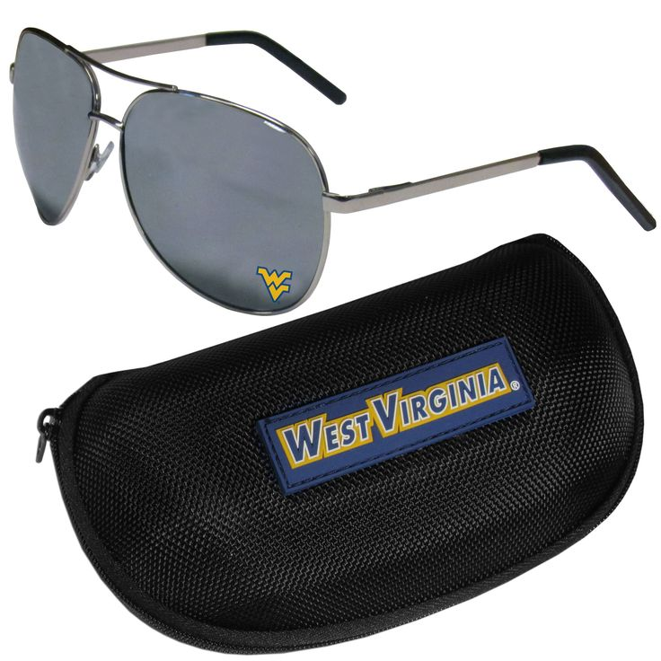 "Checkout our #LicensedGear products FREE SHIPPING + 10% OFF Coupon Code ""Official"" W. Virginia Mountaineers Aviator Sunglasses and Zippered Carrying Case - Officially licensed College product Comes with a zippered case with microfiber interior and large team logo on the lid Maximum UVA/UVB protection for all outdoor activities from sun bathing by the pool or an the beach to blocking those sun rays on game day The high-quality frames feature flexible hinges that help prevent breakage and make…"