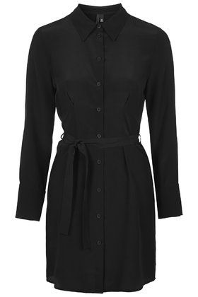 Silk Tie-Waist Dress by Boutique