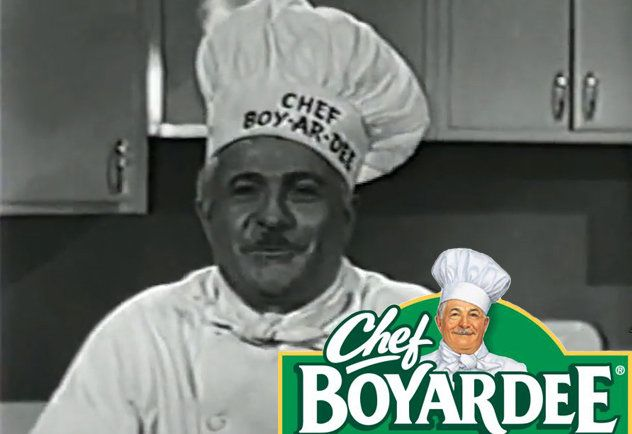 Food packaging people in real life. Also, Chef Boyardee was a boss.
