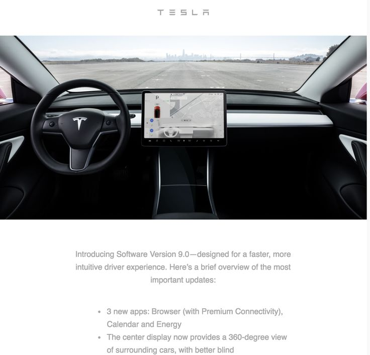 Tesla Software Version 9 0 Most Substantial Update Yet Tesla Version Software
