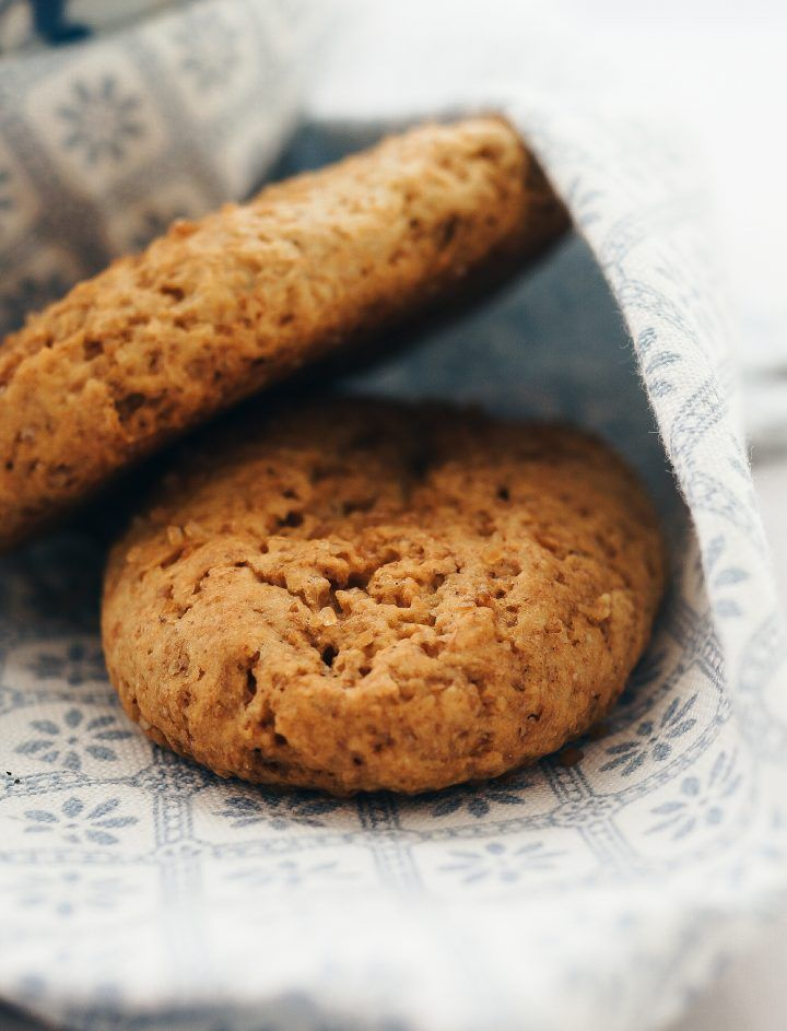 Biscotti integrali al limone - da inzuppo