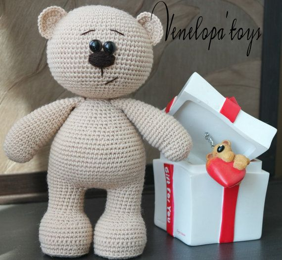 Amigurumi Bear Pattern Crochet Bear Pattern by VenelopaTOYS