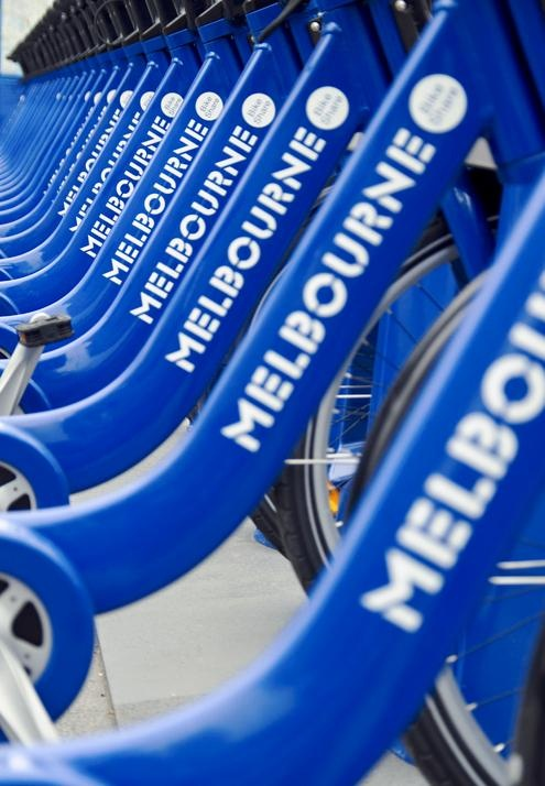 The Melborne VELIB (Bike Share)