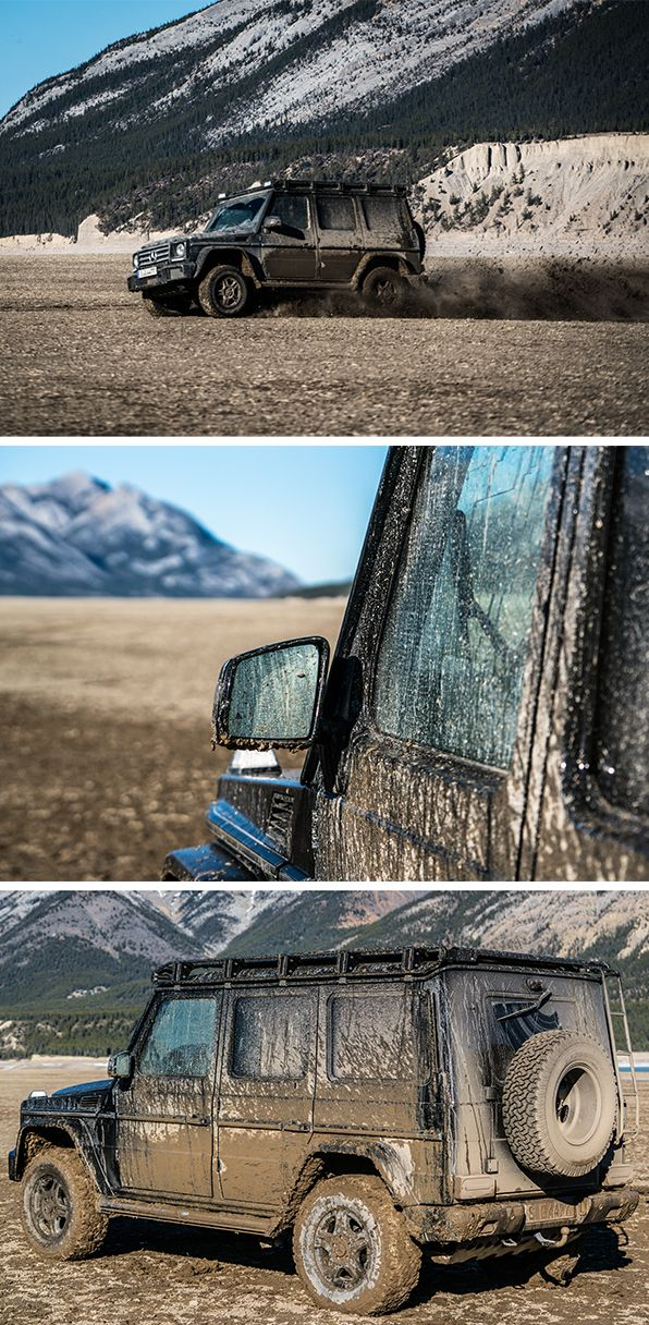 A new adventure: Mike Horn in a Mercedes-Benz G-Class! Check out the first impressions from his extensive equipment testing in western Canada. After daring the massive K2 in 2015's #DrivenToExplore journey, his next expedition will challenge the extreme athlete one more time. We'll keep you posted! #ExploreAlberta   Special thanks to Travel Alberta and Mercedes-Benz Canada! Photo courtesy of Erik Hecht.