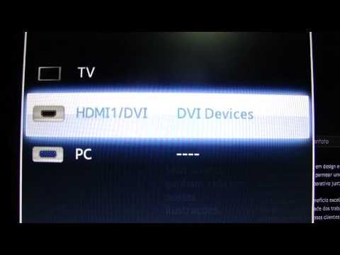Samsung LED monitor - SyncMaster TA 550 tutorial