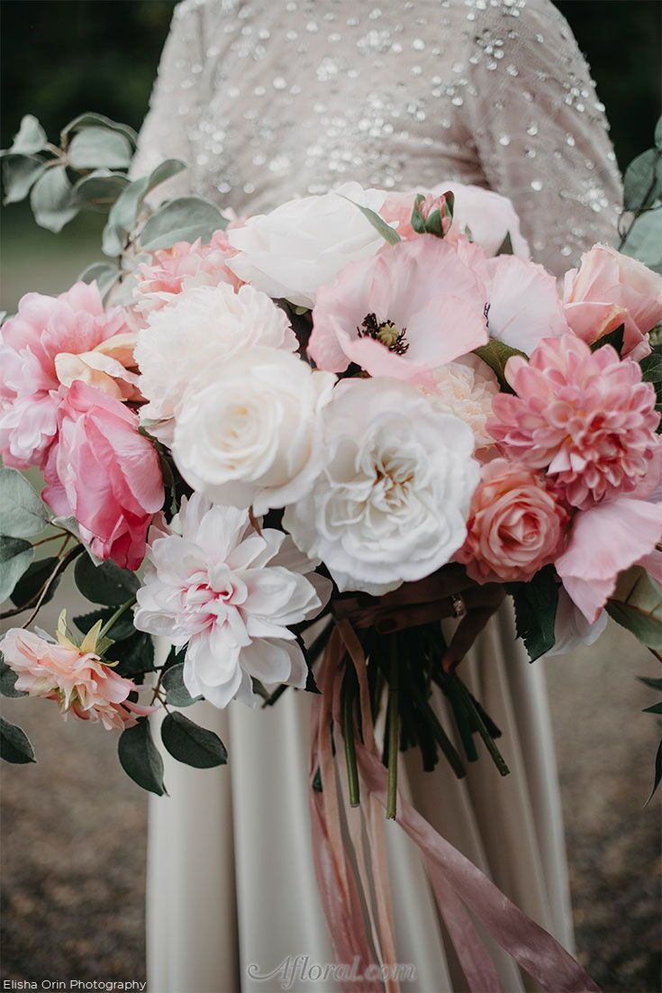 Shop Pink Silk Flowers For Your Wedding At Afloral Make It