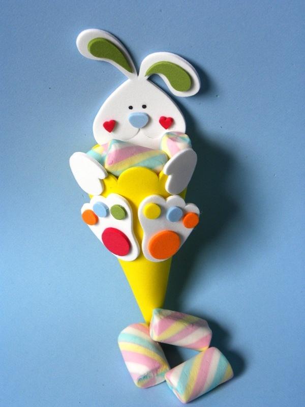 cucuruchos conejo de pascua