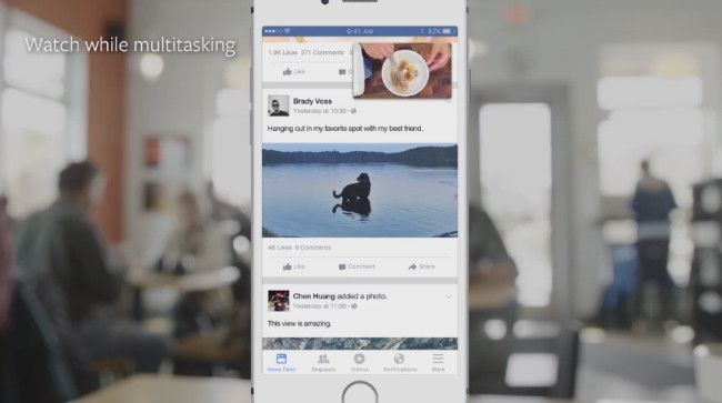 Facebook inicia prueba de nueva sección solo para ver videos. DETALLES: http://www.audienciaelectronica.net/2015/10/facebook-inicia-prueba-de-nueva-seccion-solo-para-ver-videos/