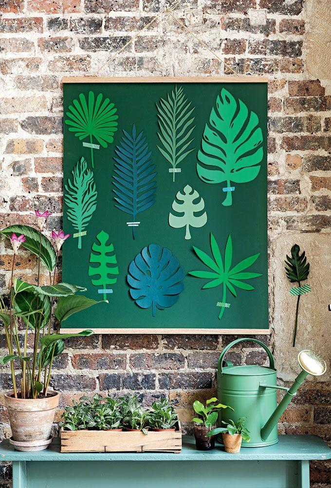 Tendance Green : Faire soi-même un herbier en papier, grandeur nature !    Green Tendency: Make yourself a life-size paper herbarium!