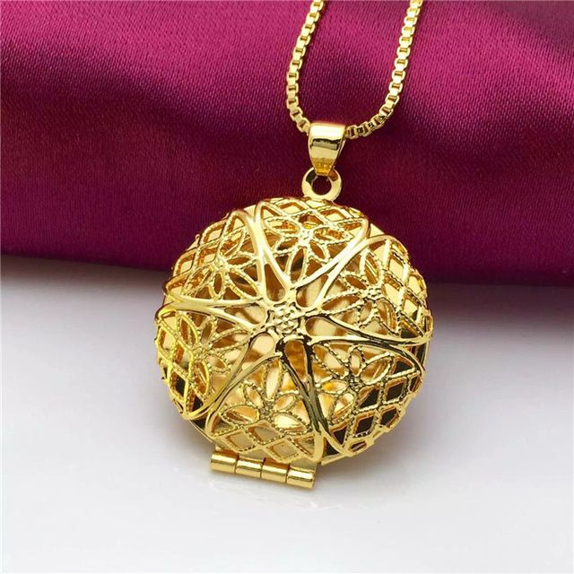 Aliexpress new design 24k gold necklace fashion jewelry,gold pendant necklace…