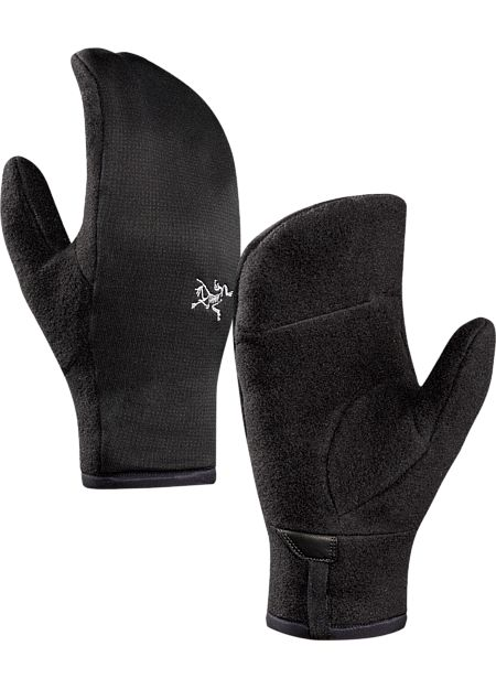 Delta Mitten Men's Men's midweight fleece mittens can be used alone or as a liner under a shell mitten.