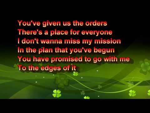 ▶ let it start with me with lyrics - YouTube