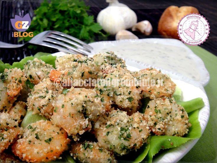 i gamberi gratinati light con salsa all aglio possono essere un antipasto ma anche un gustoso secondo. molto leggeri e gustosi fanno felici tutti