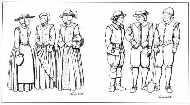 Clothing resource for Pilgrim clothing (real historical clothing, not stereotypical pilgrim clothing).