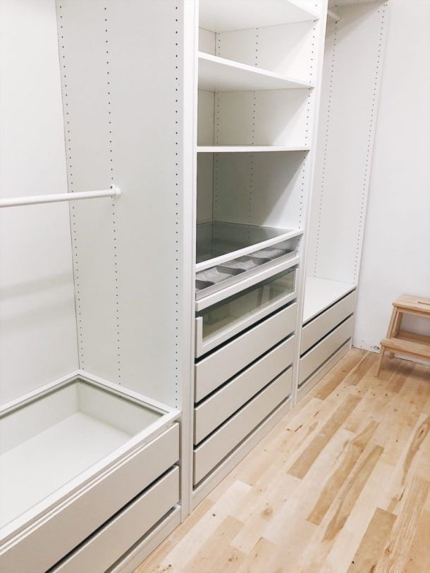 Customizing You Customizing Paxgarderobe In 2020 Closet Built Ins Ikea Pax Closet Build A Closet