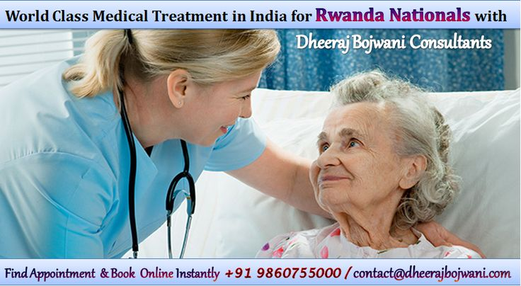 Dheeraj Bojwani Consultants is the best medical tourism in India for Rwanda patients. Our group has established a strong bond with the best hospitals across different cities