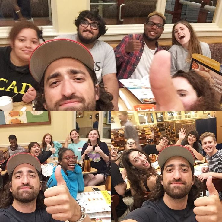 Beach trip and IHOP at the early hours. Totally worth it with this crew. #RUF #SCAD #Fergalicious #IHOP #OneMoreWeek #RollTide #Alright by jimrolltide