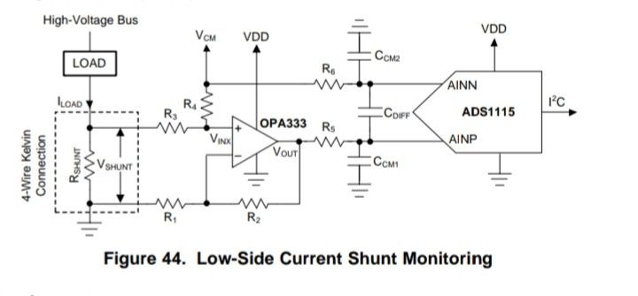 Low Side Current Shunt Monitoring In 2021 Vcm High Voltage Current