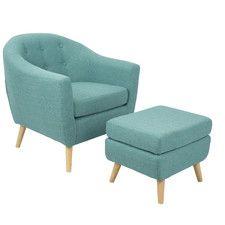 Furniture & Home Decor Search: teal ottoman