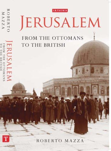 Written by Roberto Mazza of SOAS University of London, who details the unique moment in history as Jerusalem rule moved from the Ottomans to the British administration. Mazza also discusses the experiences of Jerusalem residents during World War I. Read a review here: https://login.ez-proxy.brooklyn.cuny.edu/login?url=http://search.proquest.com/docview/1000459581?accountid=7286