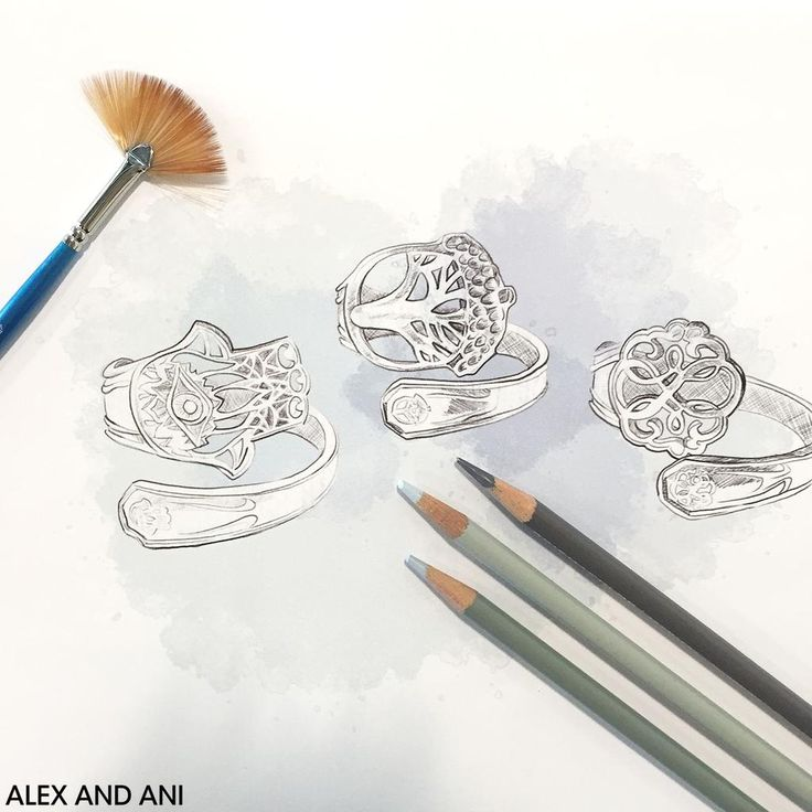 Behind-the-scenes sneak peek of a new collection available online 10/1 and in ALEX AND ANI stores 10/5. #SpoonRings