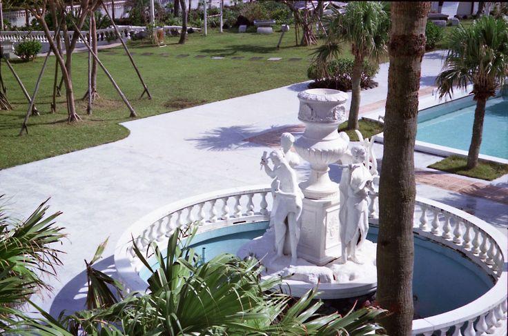 ふり〜フォトフォト〈著作権フリー無料画像〉: *八丈島,ホテル,噴水,プール〈著作権フリー無料画像〉Free Stock Photos