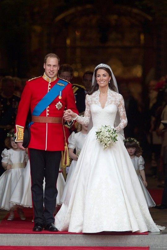 Svatbu Kate a Williama sledoval celý svět.