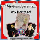This Grandparents Day, allow your students to celebrate their own unique heritage with this memory book.  I really love this one!