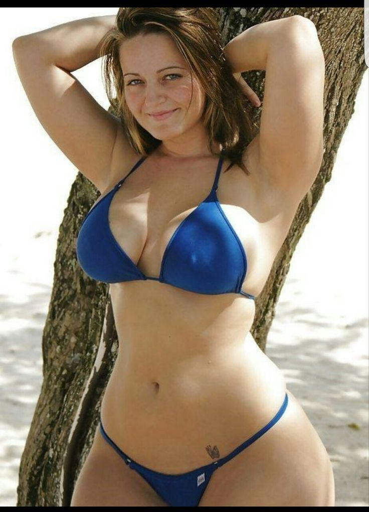 Bikini In Large Woman