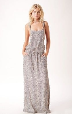 CHEETAH OVERALL DRESS