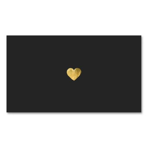 13 best fun customizable novelty business cards images on pinterest simple elegant gold heart black networking business card colourmoves